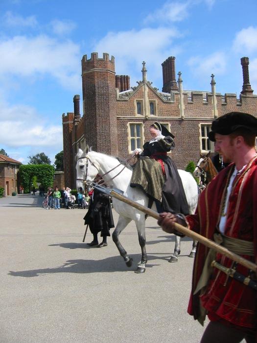 Anne Boleyn at Hamptn Court Palace